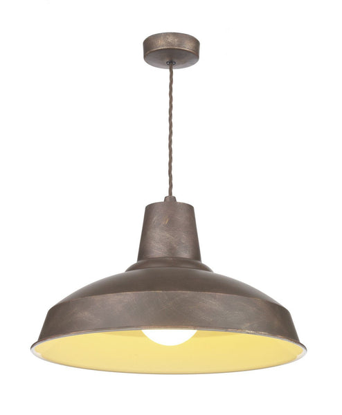 Reclamation Bronze Lamp Ceiling Light - London Lighting - 1