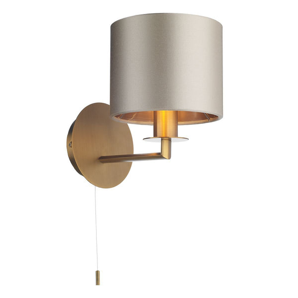 Homerton 1 Light Wall Light In Bronze - ID 8684