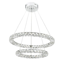 Roma LED Chrome Dimmable Pendant - London Lighting - 1