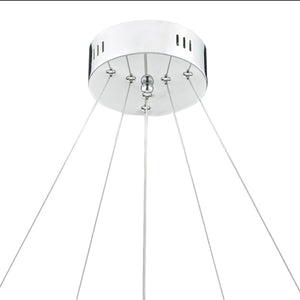 Roma LED Chrome Dimmable Pendant - London Lighting - 4