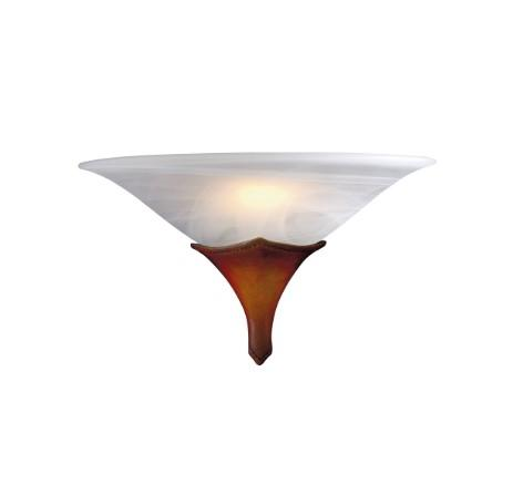 Saddler Wall Light With White Italian Alabaster Glass - ID 4469