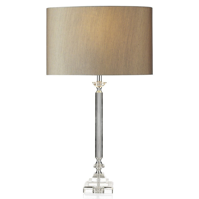 Sahara Clear Table Lamp - London Lighting - 1