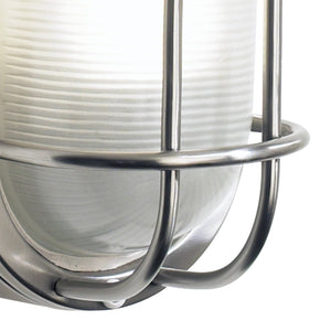 Salcombe Small Oval Steel Wall Light - London Lighting - 3