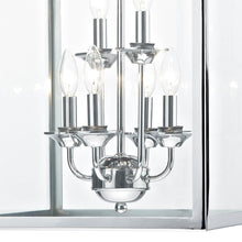 Senator Polished Chrome 6 Lights Pendant Light - London Lighting - 2