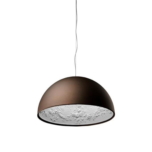FLOS Skygarden 1 Matt Rusty Brown - London Lighting - 1
