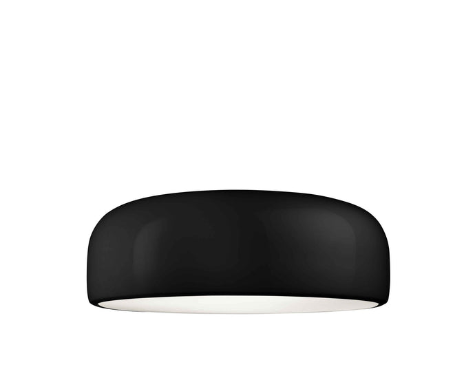 FLOS Smithfield C Black Flush Ceiling Light - London Lighting - 1