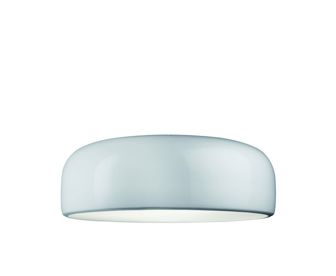 FLOS Smithfield C White Flush Ceiling Light - London Lighting - 1