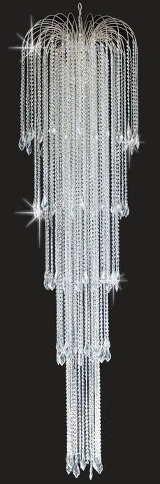 Carshalton 5 Tiered Crystal Chandelier - ID 8105