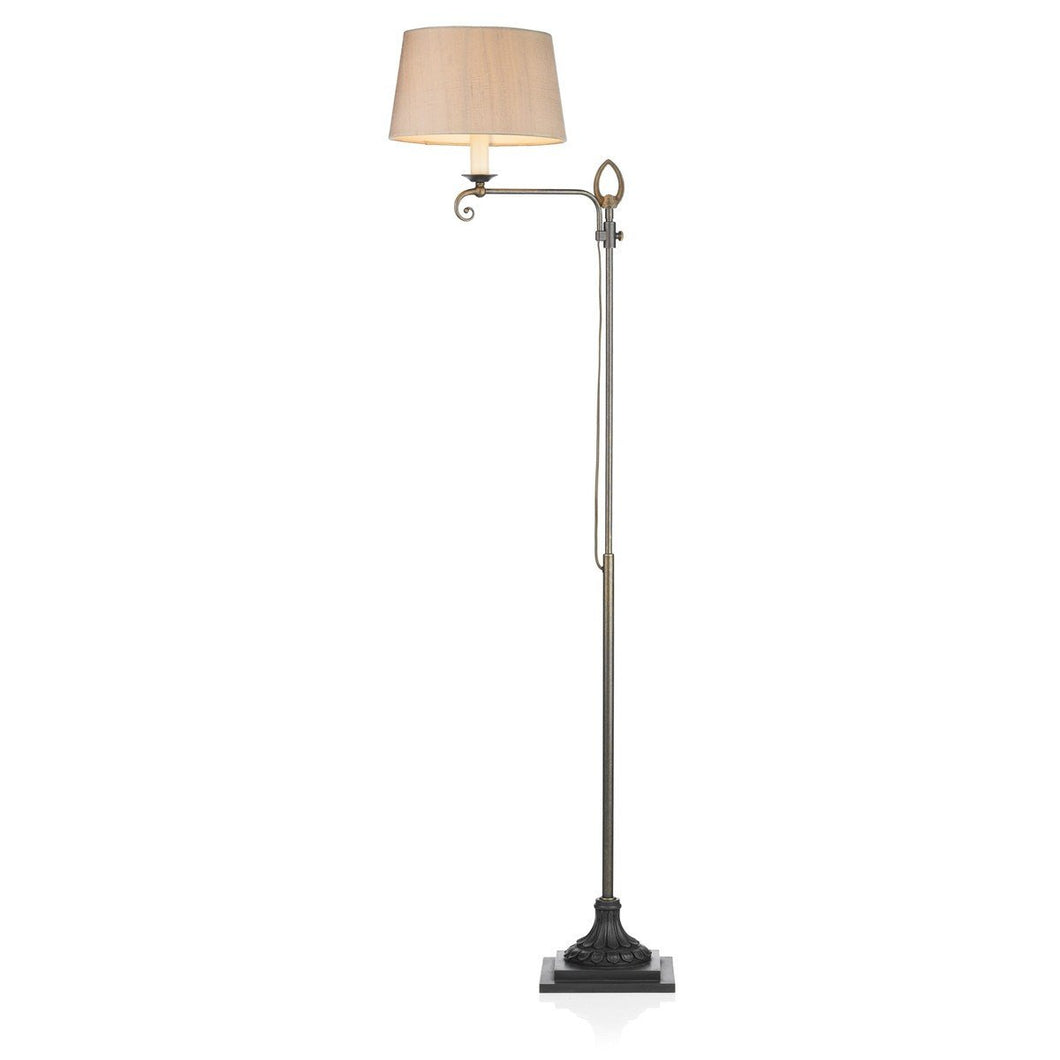 Stratford Brass Floor Lamp - London Lighting - 1