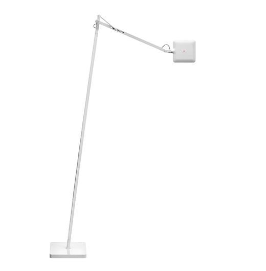 FLOS Kelvin LED F White Floor Lamp - London Lighting - 1