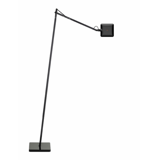 FLOS Kelvin LED F Black Floor Lamp - London Lighting - 1