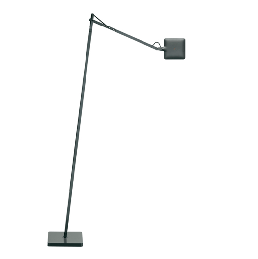 FLOS Kelvin LED F Anthracite Floor Lamp - London Lighting - 1