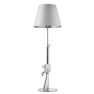 FLOS Lounge Gun Chrome/Grey - London Lighting - 1