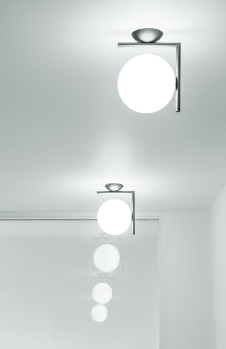 FLOS IC Lights 200 C/W1 Wall or Ceiling Light - London Lighting - 1