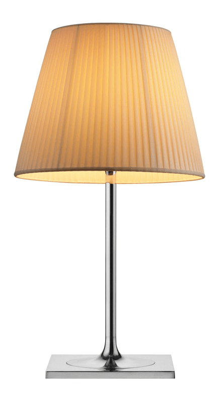 FLOS KTRIBE T2 Cream Fabric Table Lamp with Dimmer - London Lighting - 1