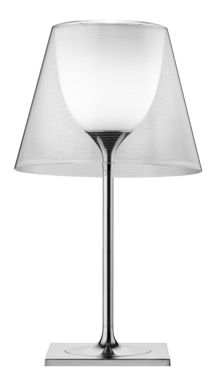 FLOS KTRIBE T2 Transparent Table Lamp with Dimmer - London Lighting - 1