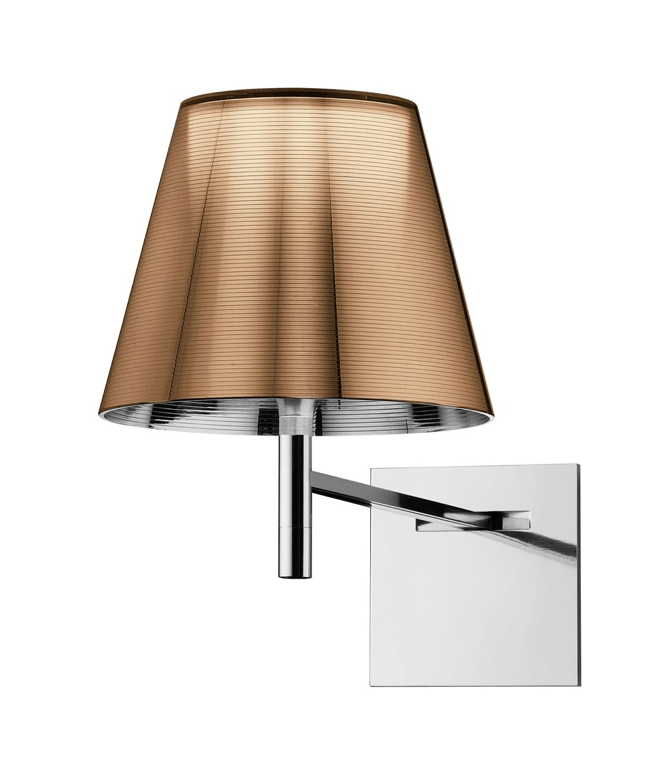 FLOS KTribe W Aluminzed Bronze Wall Light - London Lighting - 1