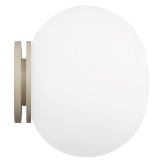 FLOS Mini Glo-Ball C/W Wall or Ceiling Light - London Lighting - 1