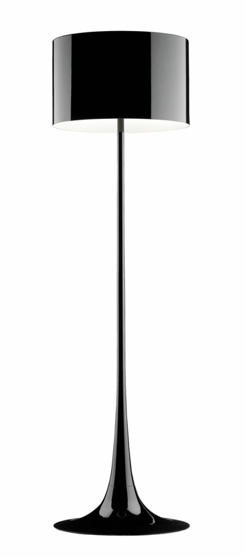 FLOS Spun Light F Black - London Lighting - 1