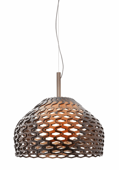 FLOS Tatou S2 Ochre-Grey Ceiling Light - London Lighting - 1