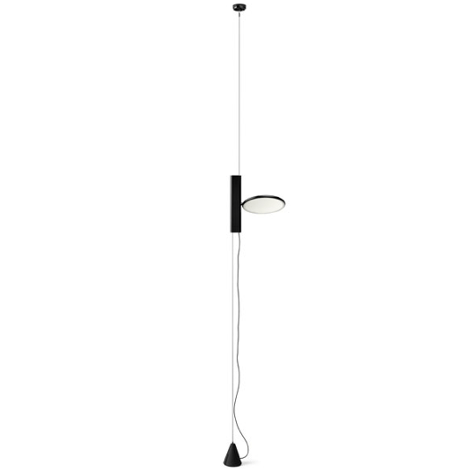 FLOS OK Suspended Light - Black - London Lighting - 1