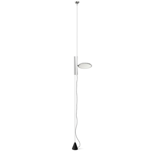 FLOS OK Suspended Light - Chrome - London Lighting - 1