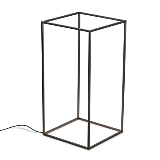 FLOS Ipnos Indoor Black Anodised Floor Lamp - London Lighting - 1
