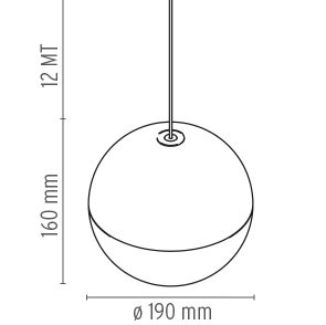 FLOS String Light Spherical - London Lighting - 2