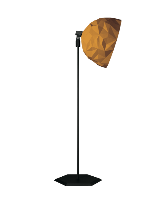 Diesel Rock Floor Lamp Gold - London Lighting - 1