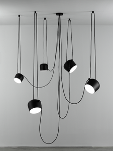 FLOS Aim Large White Suspended Ceiling Light