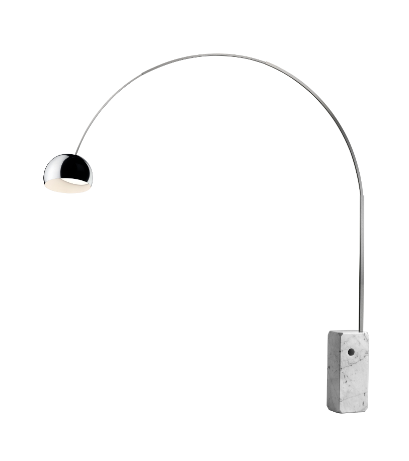 FLOS Arco Marble Multichip LED Floor Lamp