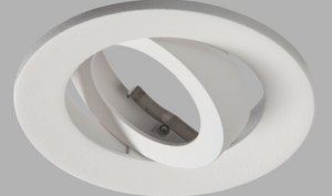 Matt White CRI95 Dimmable LED Fire-Rated DownLight Can
