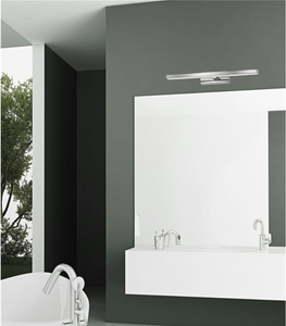 Brin 49cm Chrome Single Arm LED Bathroom Wall Light - ID 7127