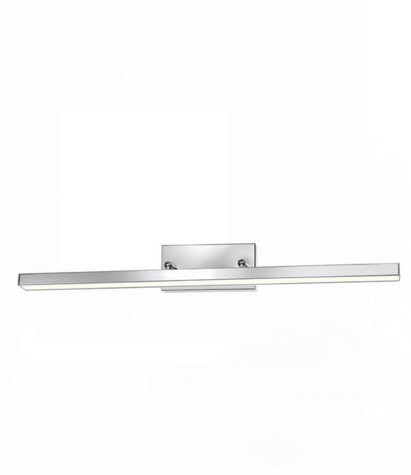 49cm Chrome Double Arm LED Bathroom Wall Light - ID 7130