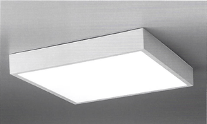 Hannay Small Flush Dimmable Square Square Ceiling Light - ID 9925