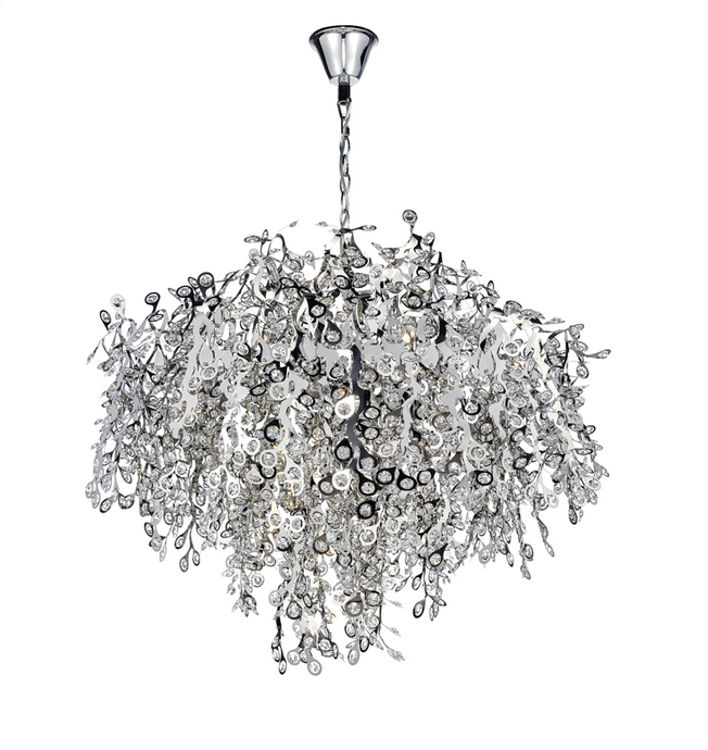 Selhurst Polished Chrome Large Ceiling Pendant ID - 5826