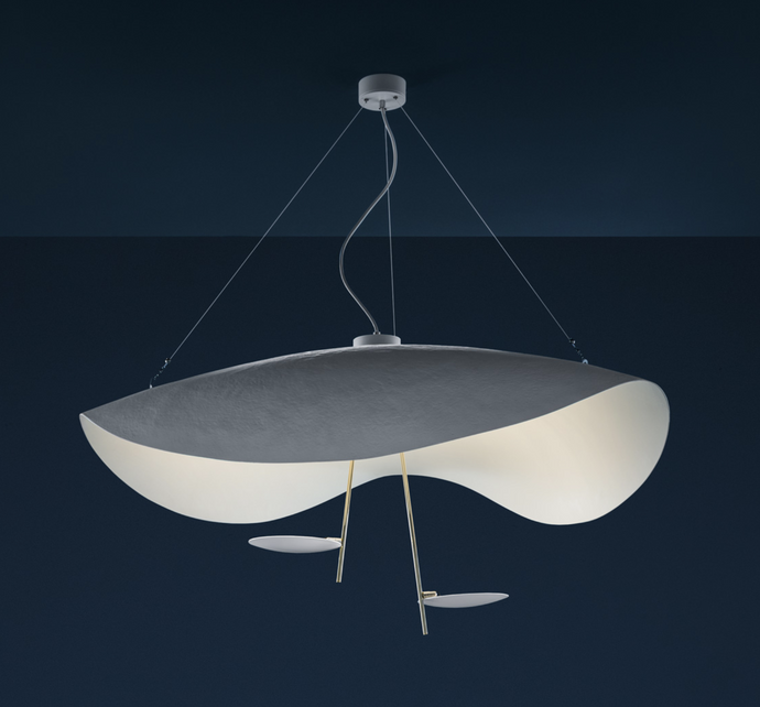 CS Curving LED Pendant Colour Options - ID 7541