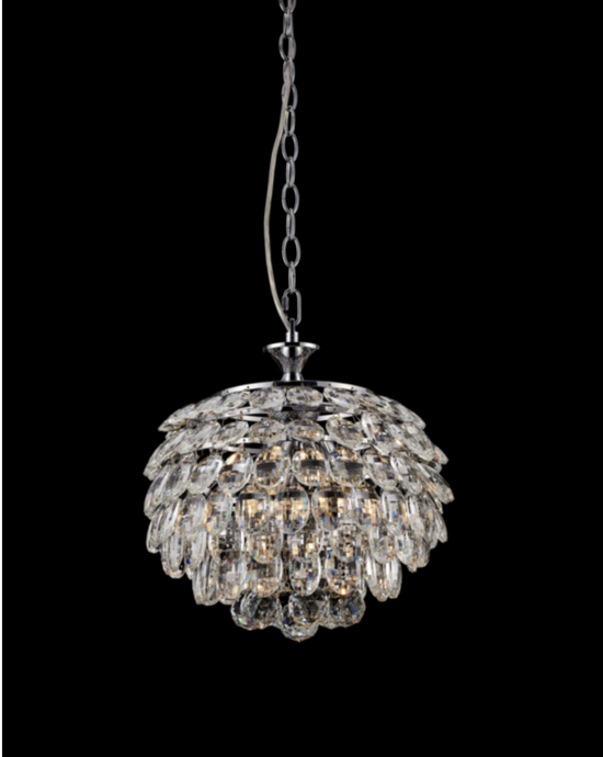 Southborough Small Layered Crystal Pendant - ID 5023