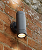 Aluminium Black Powder-Coated Up/Down Outdoor Wall Light - ID 6625