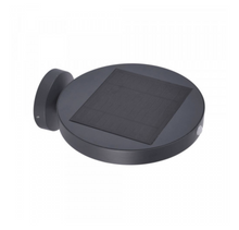 Anthracite Solar Pir Outdoor Wall Light - ID 6619