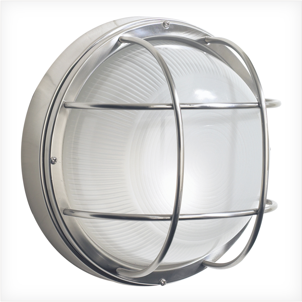 Bellingham Stainless Steel Exterior Round Wall Light - ID 6201
