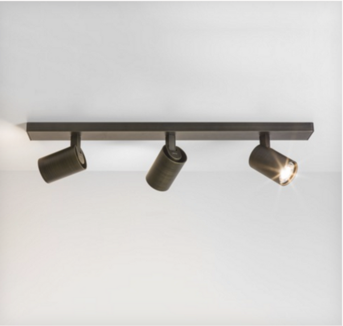Cheam Bronze Three Head Spotlight Bar - ID 1901