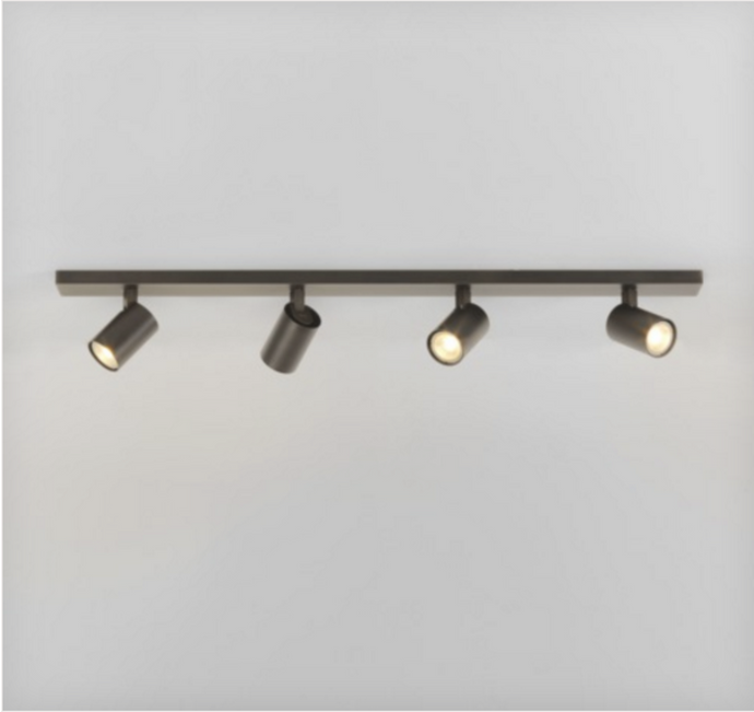 Cheam Bronze Four Head Spotlight Bar - ID 2014