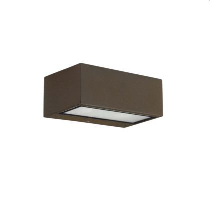 Brown Exterior Led Wall Light - ID 6794