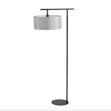 Climping Bronze and Grey Floor Lamp - ID 8086