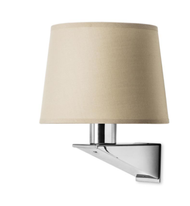 Brentwood Contemporary Wall Light In Satin Nickel - ID 5275