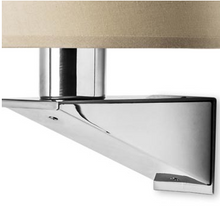 Brentwood Contemporary Wall Light In Satin Nickel - ID 7957