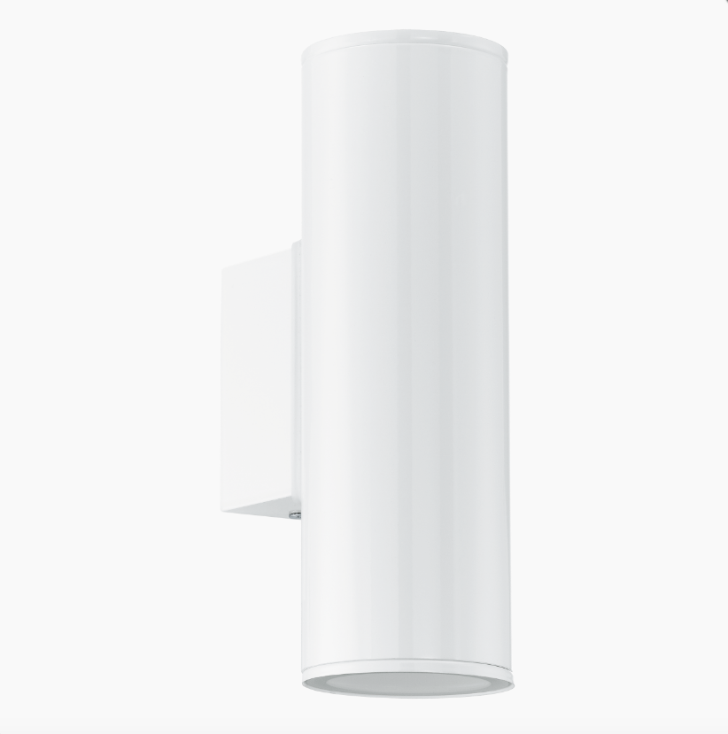 Brunswick White Outdoor Up/Down Wall Light - ID 7969