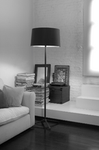 Belmont Black Floor Lamp with Shade - ID 8129