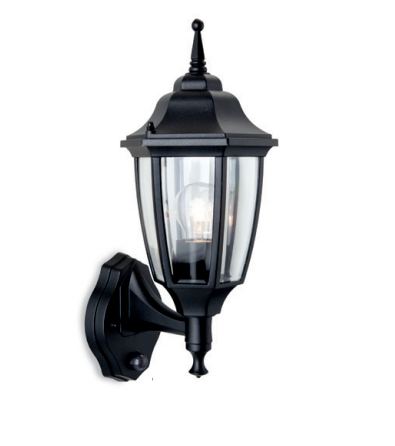 Colyers Outdoor Uplight Wall Light With PIR - ID 8327